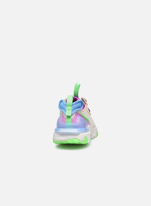 Sneaker Nike W Nike Nsw React Vision beige ansicht von rechts