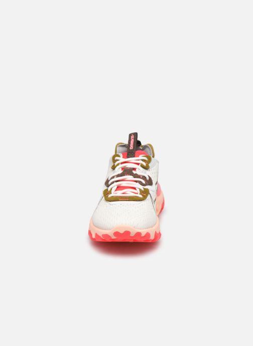 Baskets Nike W Nike Nsw React Vision Blanc vue portées chaussures