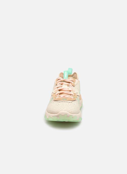 Sneaker Nike W Nike Nsw React Vision beige schuhe getragen