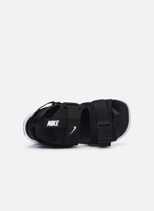 Sandaler Nike Wmns Nike Canyon Sandal Sort se fra venstre