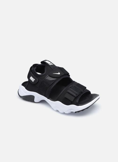 Sandaler Nike Wmns Nike Canyon Sandal Sort detaljeret billede af skoene