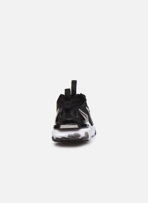 Deportivas Nike W Nike Nsw React Vision Ess Negro vista lateral derecha
