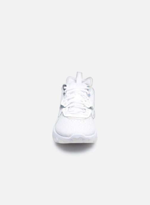 Baskets Nike W Nike Nsw React Vision Ess Blanc vue portées chaussures