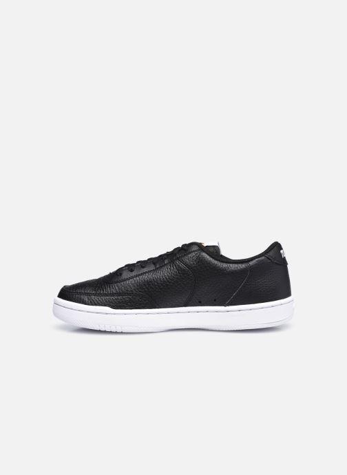 Sneaker Nike Wmns Nike Court Vintage Prm schwarz ansicht von vorne