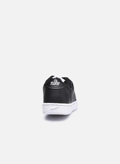 Sneaker Nike Wmns Nike Court Vintage Prm schwarz ansicht von rechts