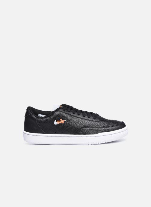 Sneaker Nike Wmns Nike Court Vintage Prm schwarz ansicht von hinten