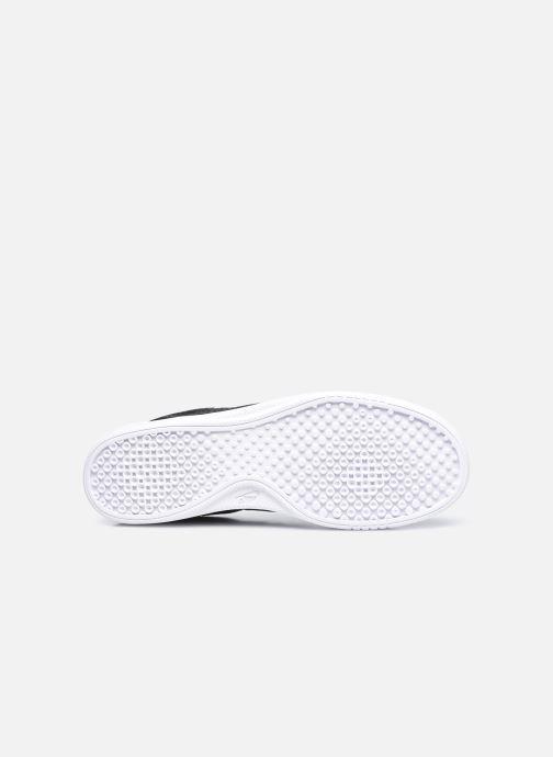 Sneaker Nike Wmns Nike Court Vintage Prm schwarz ansicht von oben