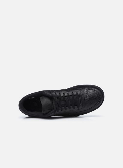 Sneaker Nike Wmns Nike Court Vintage Prm schwarz ansicht von links