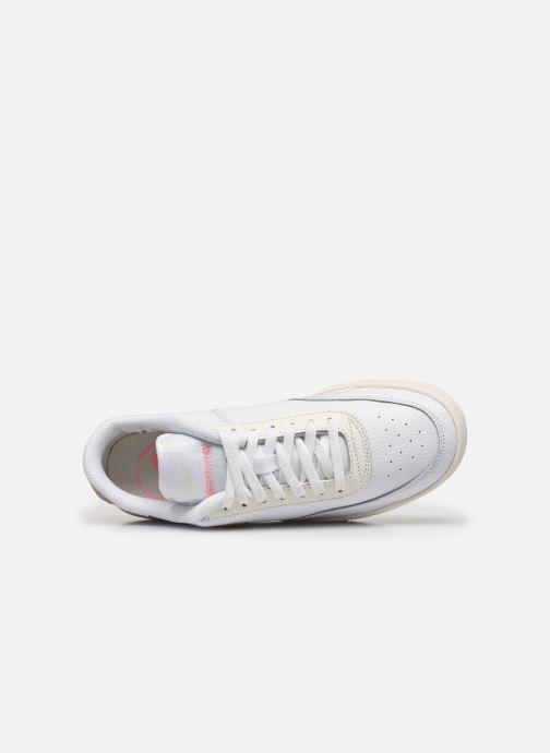 Sneaker Nike Wmns Nike Court Vintage Prm weiß ansicht von links