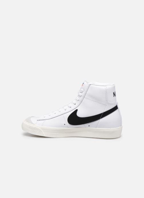 Sneaker Nike W Blazer Mid '77 weiß ansicht von vorne
