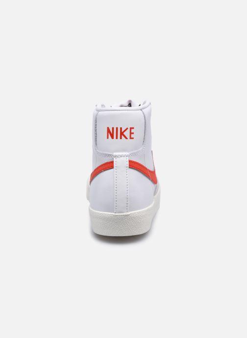Deportivas Nike W Blazer Mid '77 Blanco vista lateral derecha