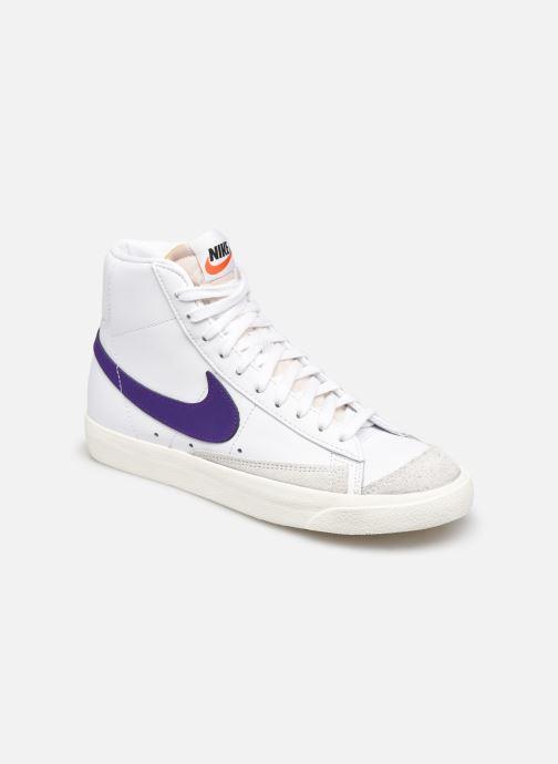 Deportivas Nike W Blazer Mid '77 Blanco vista de detalle / par