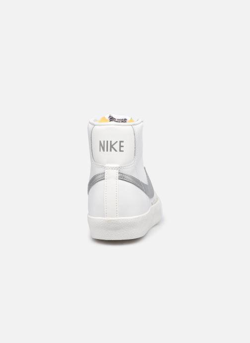 Sneaker Nike W Blazer Mid '77 weiß ansicht von rechts