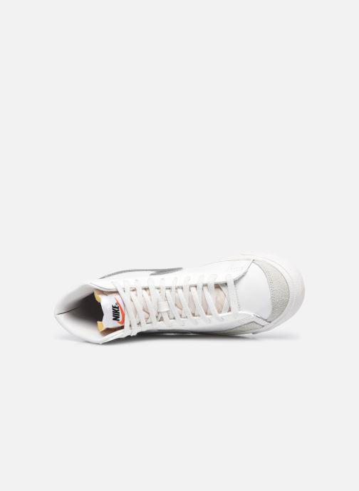 Sneaker Nike W Blazer Mid '77 weiß ansicht von links