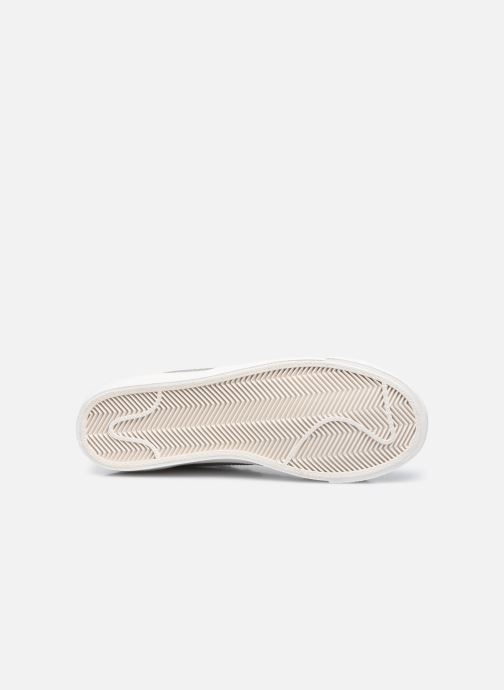 Sneaker Nike W Blazer Mid '77 weiß ansicht von oben