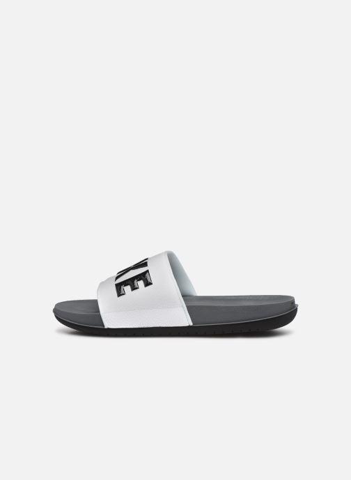 Sandales et nu-pieds Nike Nike Offcourt Slide Gris vue face