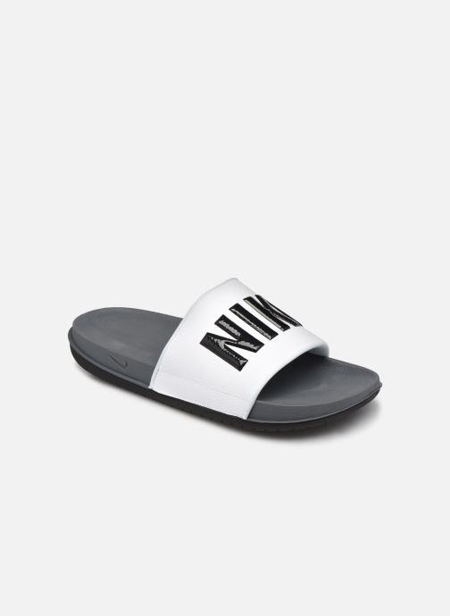Sandales et nu-pieds Nike Nike Offcourt Slide Gris vue détail/paire