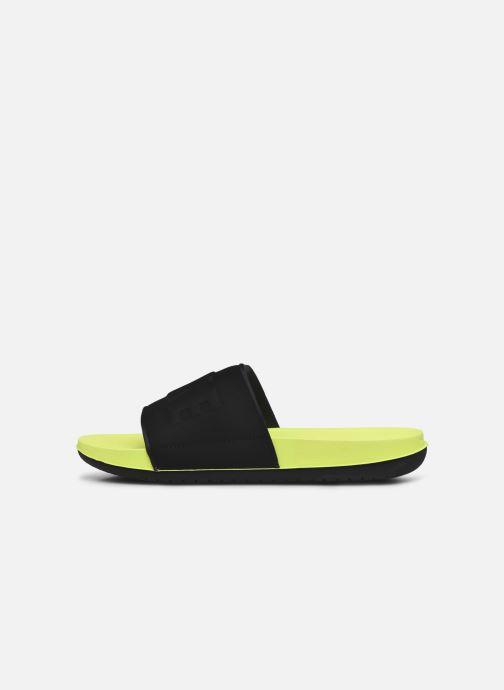 Sandali e scarpe aperte Nike Nike Offcourt Slide Giallo immagine frontale