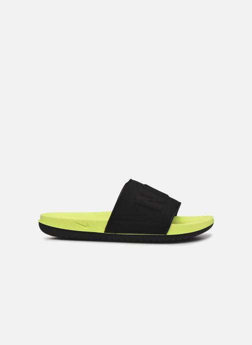 Sandali e scarpe aperte Nike Nike Offcourt Slide Giallo immagine posteriore