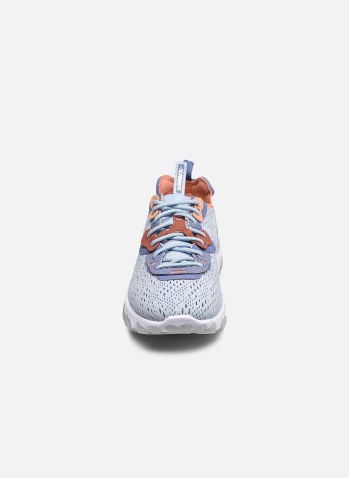 Sneaker Nike Nike React Vision blau schuhe getragen