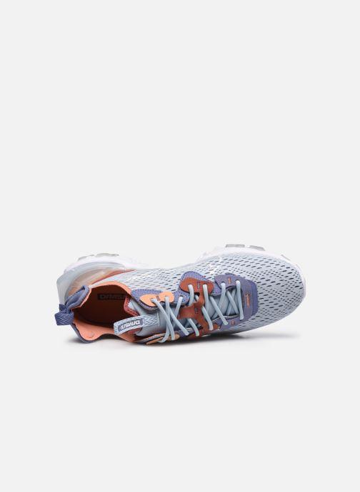 Sneaker Nike Nike React Vision blau ansicht von links