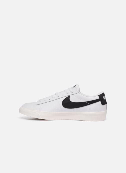 Baskets Nike Blazer Low Leather Blanc vue face