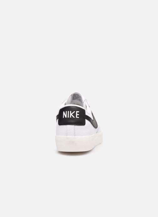 Baskets Nike Blazer Low Leather Blanc vue droite