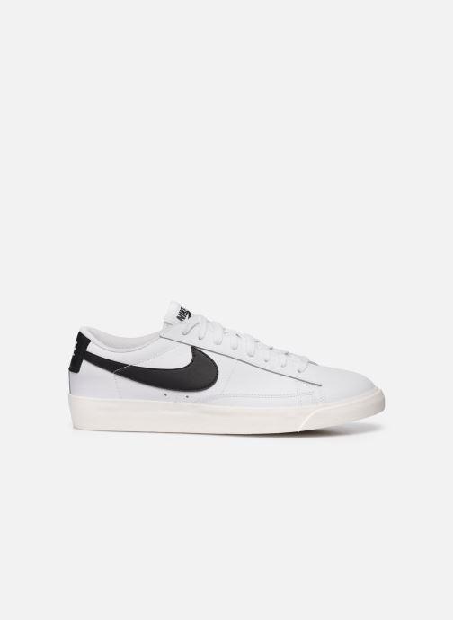 Baskets Nike Blazer Low Leather Blanc vue derrière