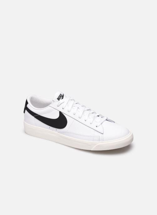 Baskets Nike Blazer Low Leather Blanc vue détail/paire