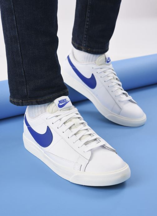 Sneakers Nike Blazer Low Leather Bianco immagine dal basso