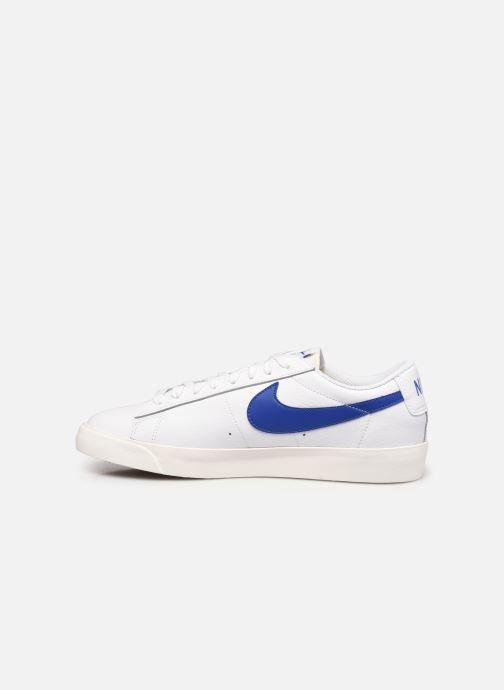 Sneakers Nike Blazer Low Leather Bianco immagine frontale