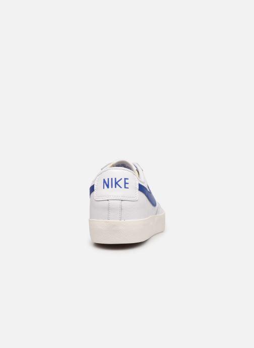 Sneakers Nike Blazer Low Leather Bianco immagine destra
