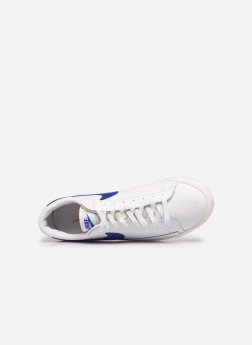 Sneakers Nike Blazer Low Leather Bianco immagine sinistra