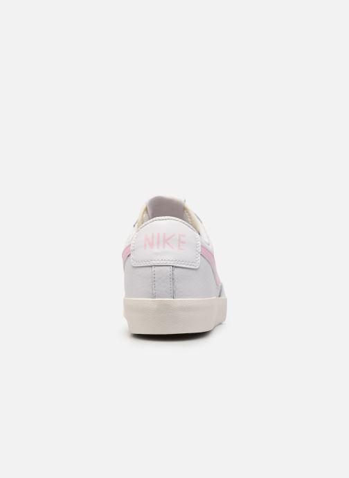 Sneakers Nike Blazer Low Leather Wit rechts