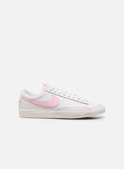 Sneakers Nike Blazer Low Leather Wit achterkant