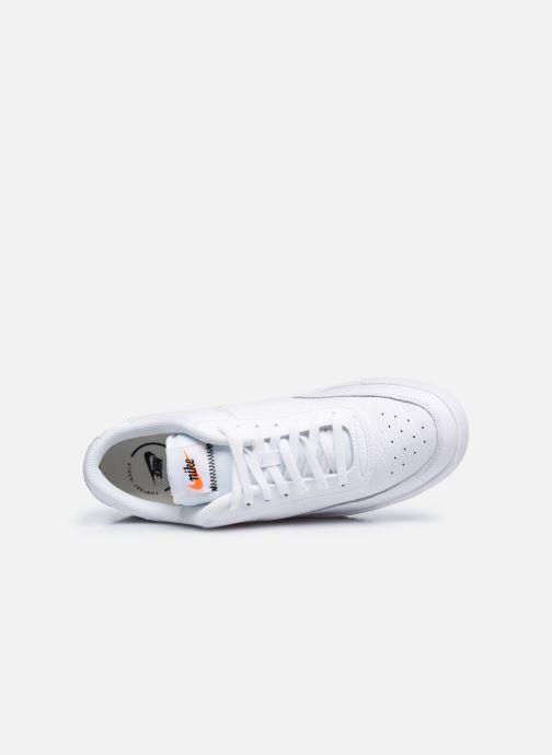 Sneaker Nike Nike Court Vintage Prem weiß ansicht von links