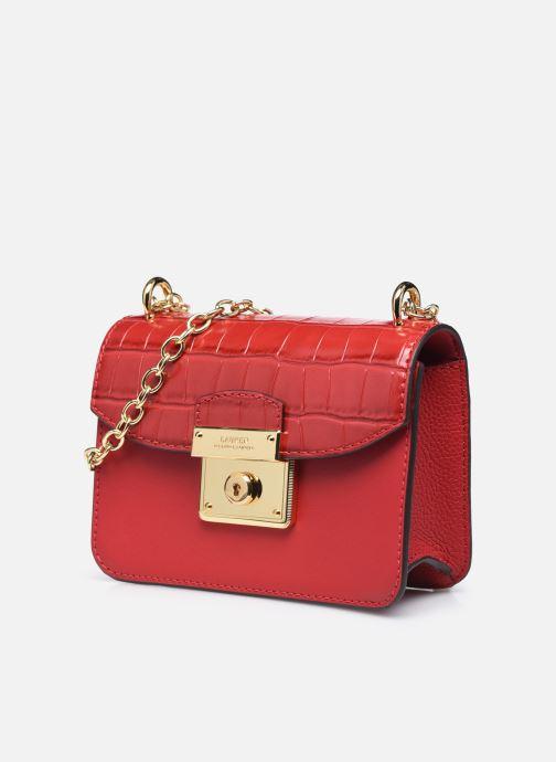 Sacs à main Lauren Ralph Lauren BECKETT 17 Rouge vue portées chaussures