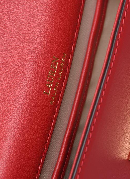 Sacs à main Lauren Ralph Lauren BECKETT 17 Rouge vue derrière