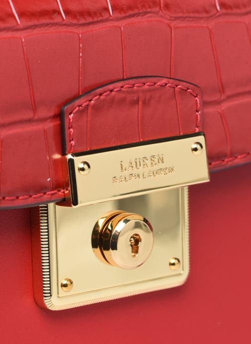 Sacs à main Lauren Ralph Lauren BECKETT 17 Rouge vue gauche