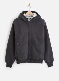 Vêtements Accessoires Sweat Sherpa Zippe Capuche