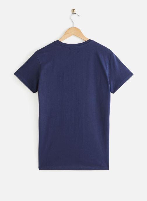 Schott Tshirtlogo - Bleu (navy)