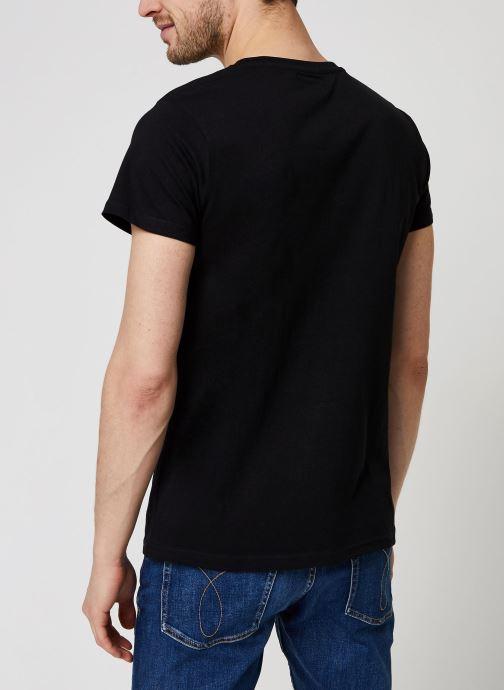 Kleding Schott Tshirt Brode  Nyc Zwart model