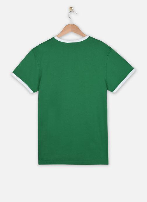 Kleding Schott Tshirt Mc Logo Planete Groen model