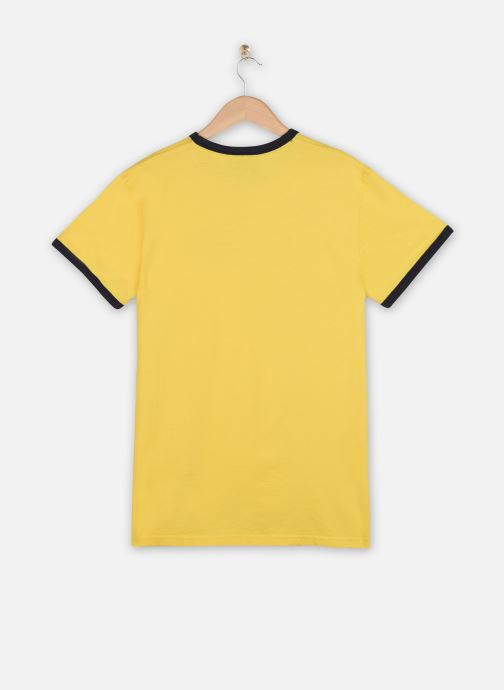 Kleding Schott Tshirt Mc Logo Signature Geel model