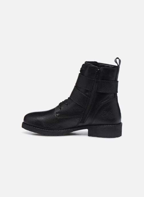 Bottines et boots I Love Shoes THORO LEATHER Noir vue face