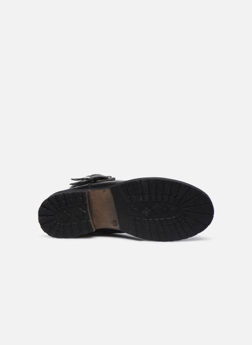 Bottines et boots I Love Shoes THORO LEATHER Noir vue haut