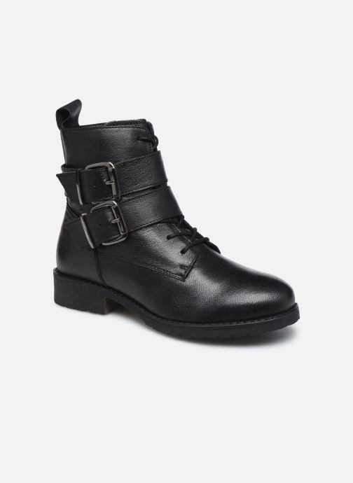 Bottines et boots I Love Shoes THORO LEATHER Noir vue détail/paire
