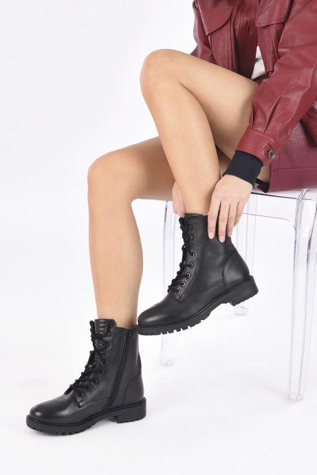 Stivaletti e tronchetti I Love Shoes THERASSE LEATHER Nero immagine dal basso