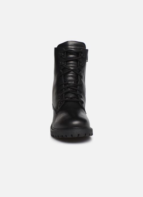 Stivaletti e tronchetti I Love Shoes THERASSE LEATHER Nero modello indossato