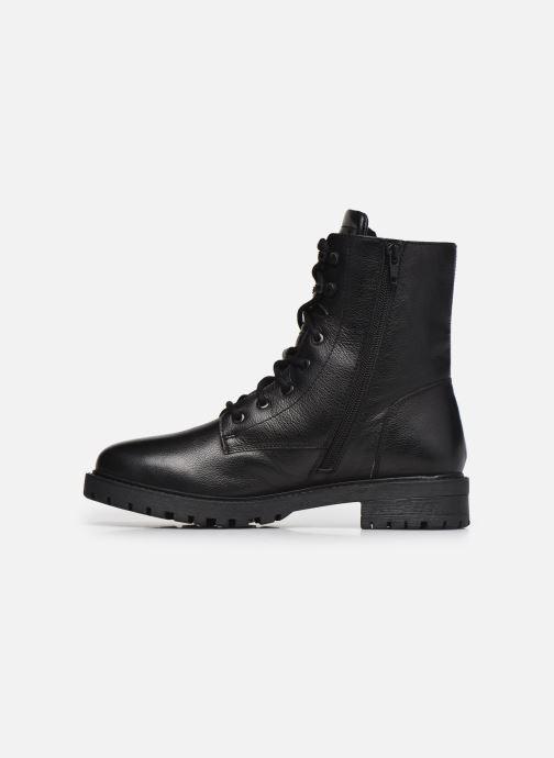 Stivaletti e tronchetti I Love Shoes THERASSE LEATHER Nero immagine frontale